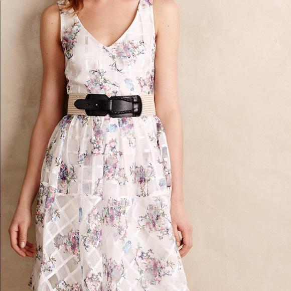 908fe2f7 Anthropologie Dresses & Skirts - Maeve Peony Garden Dress Anthropologie 0P 0  Petite